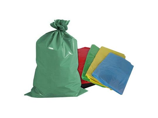 Sacos de lixo Colorido