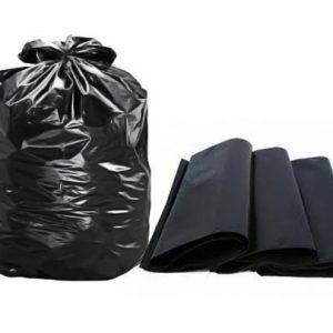 Saco de Lixo Preto Reforçado