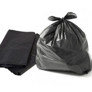Saco de Lixo Preto 60L