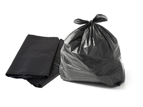 Sacos de lixo Preto