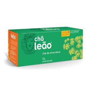 Chá Leão Erva-Doce embalagem econômica