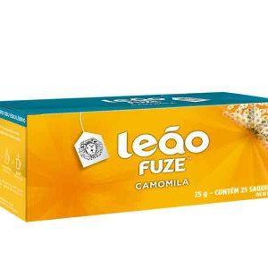 Chá Leão Fuze Camomila embalagem econômica