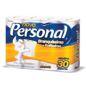 Papel Higiênico Folha Simples Personal 8×8