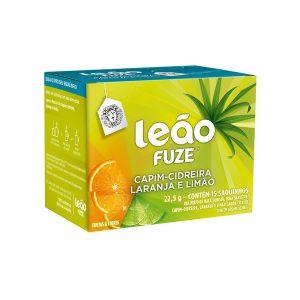 Chá Leão Premium Fuze Cidreira/Laranja e Limão