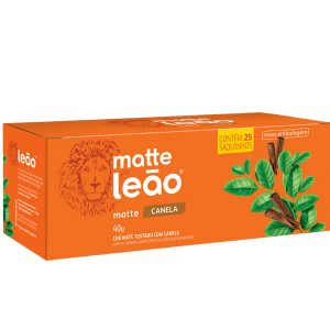 Chá Matte Leão com Canela