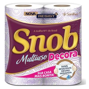 Papel Toalha Snob Decorada