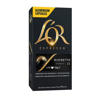 Cápsula de Café Espresso Lor Ristretto
