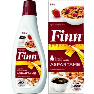 Adoçante Líquido Finn Aspartame 65ml