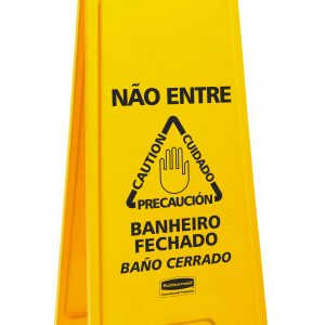 Placas Sinalizadoras – Rubbermaid