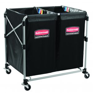 Carro Dobrável X-Cart 2X150L – Rubbermaid