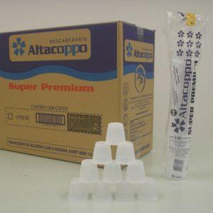 Copo Altacoppo Super Premium Branco PP