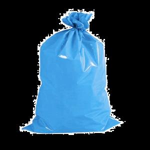 Saco de Lixo Azul Reforçado