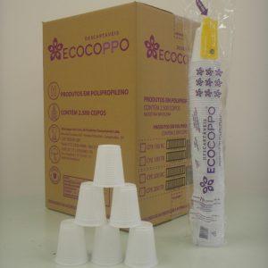 Copo Ecocoppo Branco PP