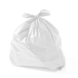 Saco de Lixo Branco Reforçado