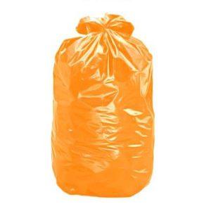 Saco de Lixo Laranja Reforçado