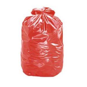 Saco de Lixo Vermelho Reforçado