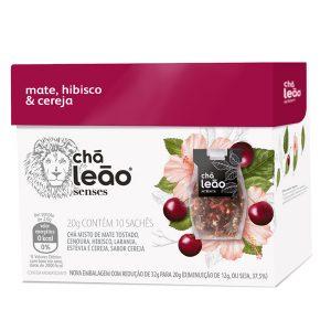 Chá Leão Senses Fuze Mate / Cereja / Hibisco