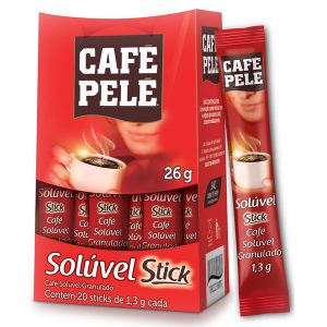 Café Pelé Solúvel Stick
