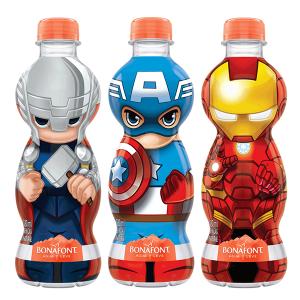Água Mineral 330ml Bonafont Avengers