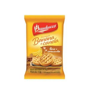Biscoito Sache Bauducco Amanteigado Banana com Canela