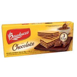 Biscoito Wafer Bauducco Chocolate