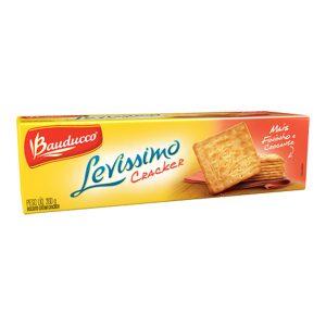 Biscoito Levíssimo Bauducco Cream Cracker