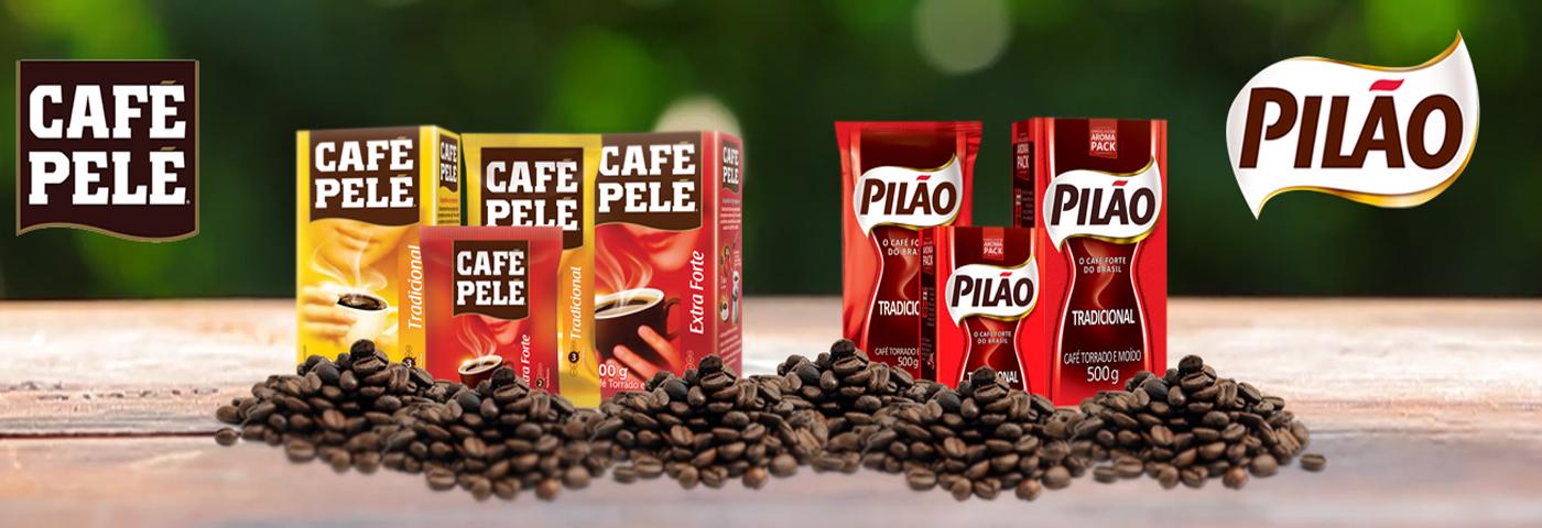 Cafés: Pelé e Pilão