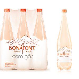 Água Mineral 1,36L Bonafont com Gás