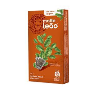 Cápsula de Chá Matte Leão Natural