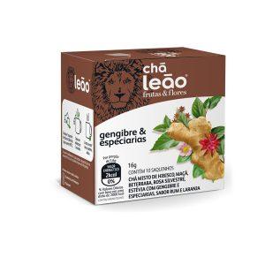 Chá Leão Frutas Gengibre e Especiarias