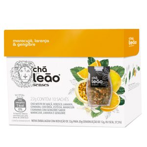 Chá Leão Senses Fuze Maracujá / Laranja / Gengibre