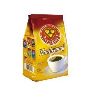 Café  3 Corações Almofada Tradicional