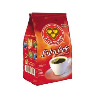 Café 3 Corações Stand Pac Extra forte