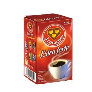 Café 3 Corações A Vácuo Extra forte