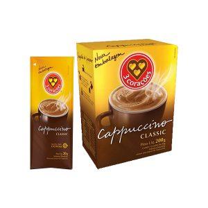 Cappuccino Tradicional Sache 3 Corações
