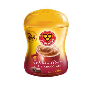 Cappuccino de Chocolate 3 Corações