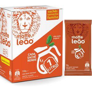 Chá Matte Leão Tamanho Família