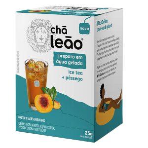 Chá Leão Gelado Ice Tea Pêssego