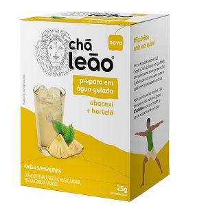 Chá Leão Gelado Abacaxi e Hortelã