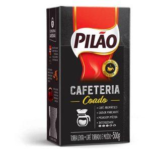 Café Pilão a Vácuo Cafeteria Coado 500g