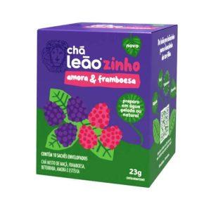 Chá Leãozinho Amora e Framboesa